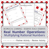 Multiplying Rational Numbers Partner Activity