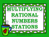 Multiplying Rational Numbers (Fractions & Decimals) Statio