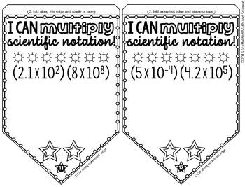 Multiplying Scientific Notation Pennant
