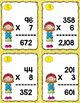Multiplying Task Cards: You Be the Teacher (Includes QR codes)