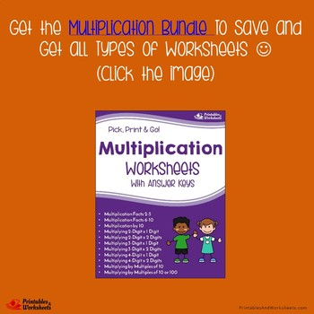 Multiplying Three Digit By Two Digit, Multiplication Worksheets