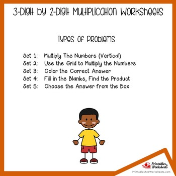 3 x 2 Multiplication Worksheets, Multiplying 3 By 2 Practice Pages