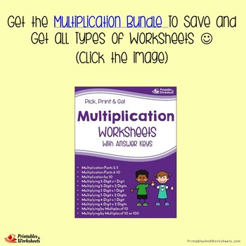 Multiplying Two Digit By Two Digit, Multiplication Worksheets With Answer Keys