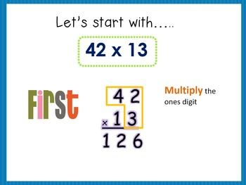 Multiplying Two-Digit Numbers by Two-Digit Numbers- 4.NBT.5b