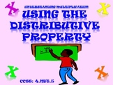 Multiplying Two Digit by Two Digit Numbers Using the Distributive Property