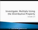 Multiplying Using the Distributive Property - Grade 4 Go M