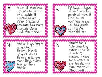 Multiplying Valentines