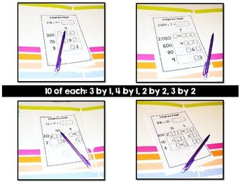 Multiplying Whole Numbers {Computation Intervention}