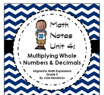 Multiplying Whole Numbers & Decimals (Aligned to Math Expr