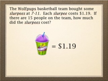 Multiplying Whole Numbers & Decimals with Multi-step Word Problems