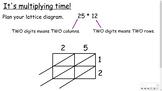 Multiplying Whole Numbers - Lattice Method