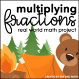 Multiplying Fractions and Whole Numbers Project | Distance Learning