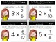 Multiplying Whole Numbers and Fractions Task Cards