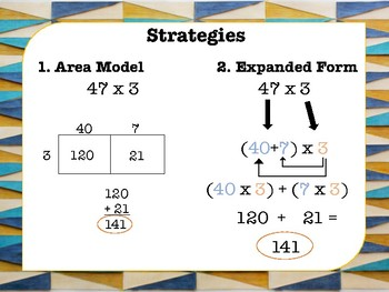 Multiplying a 1-Digit Number by  2-, 3-, and 4- Digit Numbers Task Cards