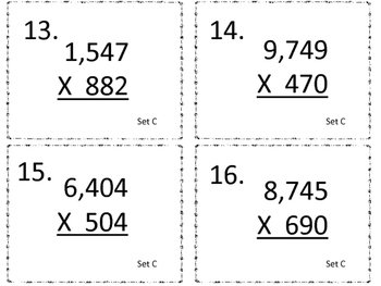 Multiplying a Four Digit Number by a Three Digit Number