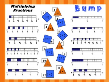 Multiplying a Fraction by a Fraction Pack – Distance Learning