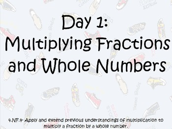 Multiplying a Fraction by a Whole Number Introduction