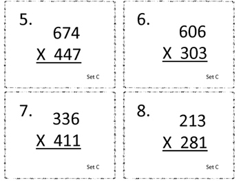 Multiplying a Three Digit Number by a Three Digit Number