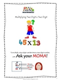 Math Mnemonics (Long Multiplication)