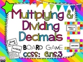 Multiplying and Dividing Decimals Board Game