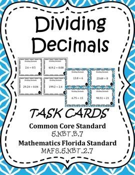 Multiplying and Dividing Decimals - Mini Bundle (Five Activities)