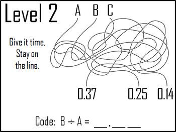Multiplying and Dividing Decimals Game: Digital Escape Room Math