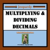 Multiplying and Dividing Decimals Jeopardy