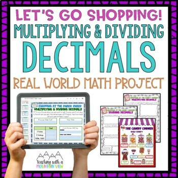 Multiplying and Dividing Decimals Project