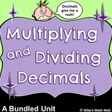 Multiplying and Dividing Decimals Made Easy (Bundled Unit) - Distance Learning