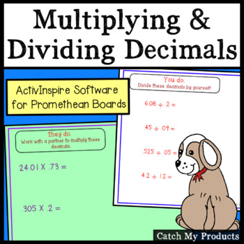 Multiplying and Dividing Decimals (Promethean Board)