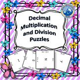 Multiplying and Dividing Decimals Puzzle Set