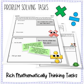 Multiplying and Dividing Decimals - {Word Problem Sort and Solve-5.NBT.B.7}