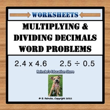 Multiplying decimals word problems worksheets 6th grade