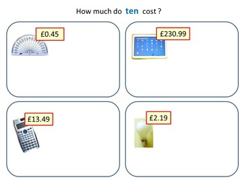 Multiplying and Dividing Decimals by 10