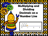 Multiplying and Dividing Decimals on a Number Line
