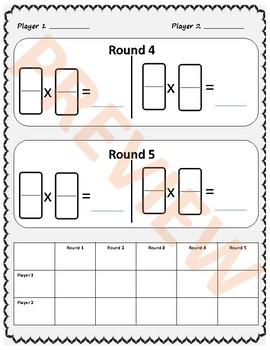 Multiplying and Dividing Fractions - Dominoes Activity