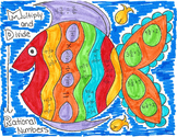 Multiplying and Dividing Fractions Fish 2 Coloring Page