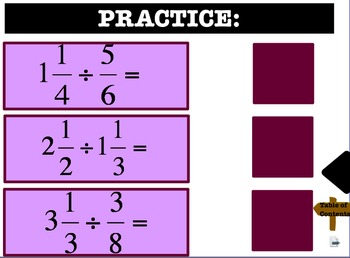 Multiplying and Dividing Fractions Flipchart