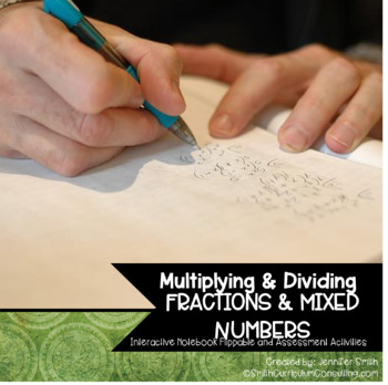 Multiplying and Dividing Fractions and Mixed Numbers Flipp