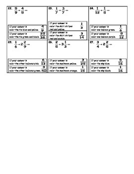 Multiplying and Dividing Fractions Fun Activity