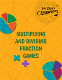 Multiplying and Dividing Fractions Game!