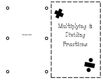 Multiplying and Dividing Fractions Journal Entry
