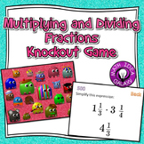 Multiplying and Dividing Fractions Knockout Game