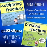 Multiplying and Dividing Fractions Made Easy (Bundled Unit