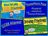 Multiplying and Dividing Fractions Made Easy (PowerPoint Pack)