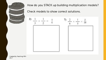 Multiplying and Dividing Fractions Powerpoint Presentation / Task Cards