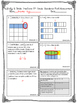 Multiplying and Dividing Fractions Pre and Post Assessment
