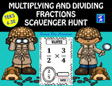 Multiplying and Dividing Fractions Scavenger Hunt