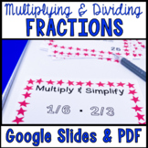 Multiplying and Dividing Fractions Task Cards