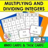 Multiplying and Dividing Integers BINGO